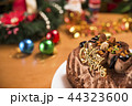 ケーキ チョコレート ロウソクの写真 44323600