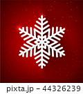 ゆき 雪 雪片のイラスト 44326239