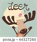 しか シカ 鹿のイラスト 44327260