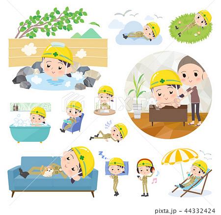 helmet worker women_relax 44332424