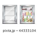 冷蔵庫 冷凍庫 冷房機器のイラスト 44333104