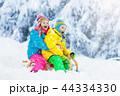 ゆき スノー 雪の写真 44334330