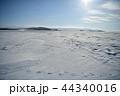 厳冬の雪原 44340016
