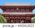 宝蔵門 浅草寺 寺の写真 44341023