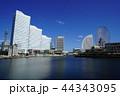 横浜 風景 みなとみらいの写真 44343095