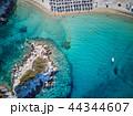 浜辺 海 ボートの写真 44344607