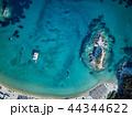 浜辺 海 ボートの写真 44344622