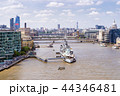 London downtown with River Thames 44346481