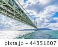 【兵庫県】明石海峡大橋 44351607