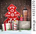 クリスマス キャンドル ゆきのイラスト 44351970