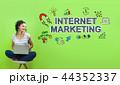 インターネット ビジネス 商売の写真 44352337