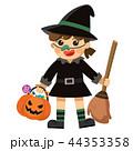 子供 ハロウィン ハロウィーンのイラスト 44353358
