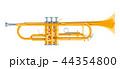 トランペット 立体 3Dのイラスト 44354800