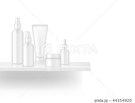 Mock up Realistic Shelf Skincare Bottle Product  44354920