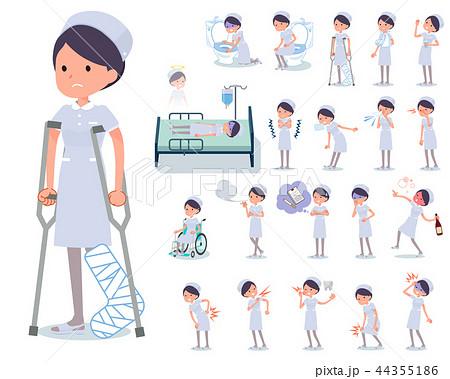 flat type Nurse women_sickness 44355186