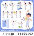 女性 ナース 看護婦のイラスト 44355192