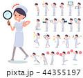 女性 ナース 看護師のイラスト 44355197