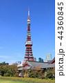 東京タワー タワー 電波塔の写真 44360845