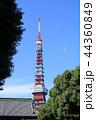 東京タワー タワー 電波塔の写真 44360849