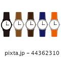 時計 時間 アイコン 腕時計 秒 44362310