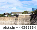 大阪城 雲 城の写真 44362334