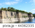 大阪城 雲 城の写真 44362335