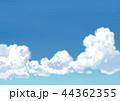 青空 入道雲 雲のイラスト 44362355