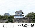 大阪城 雲 城の写真 44362446