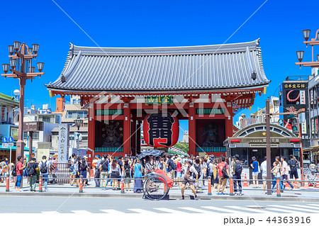 東京 浅草 雷門 44363916