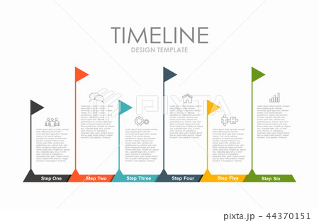 Infographic design template with place for your data. Vector illustration. 44370151