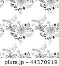 スケッチ 写生 鳥のイラスト 44370919