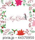 スケッチ 写生 クリスマスのイラスト 44370950