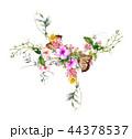 お花 フラワー 花のイラスト 44378537