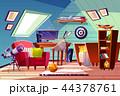 空間 部屋 インテリアのイラスト 44378761