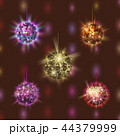 Disco ball discotheque music party night club dance equipment vector illustration. 44379999
