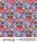クリスマス パターン 柄のイラスト 44380005