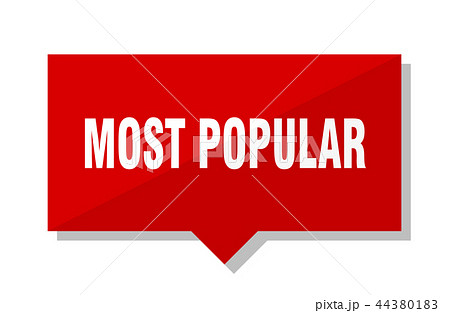 most popular red tag 44380183
