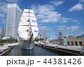 日本丸 船 帆船の写真 44381426
