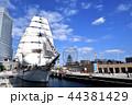 日本丸 船 帆船の写真 44381429