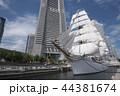 日本丸 船 帆船の写真 44381674