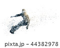 snowboard abstract silhouette 2 44382978