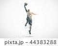 basketball silhouette 2 44383288
