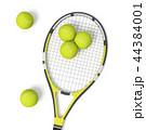 ラケット テニス 庭球のイラスト 44384001