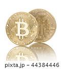 ビットコイン 金 黄金の写真 44384446