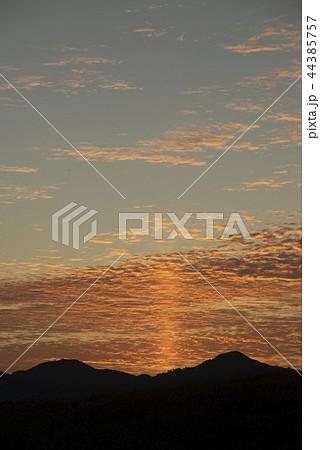 太陽柱 サンピラー 天然現象 44385757