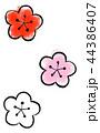 梅 花 梅の花のイラスト 44386407