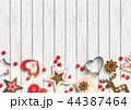 クリスマス バックグラウンド 背景のイラスト 44387464