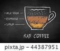 コーヒー カップ コップのイラスト 44387951
