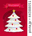 クリスマス 樹木 樹のイラスト 44388051
