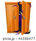 クローゼット 押入れ モンスターのイラスト 44388477